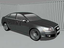Audi A6 Executive Car 3d preview