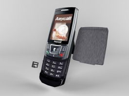 SAMSUNG SGH-D908i 3d preview