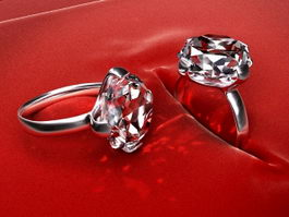 Diamond Rings 3d preview