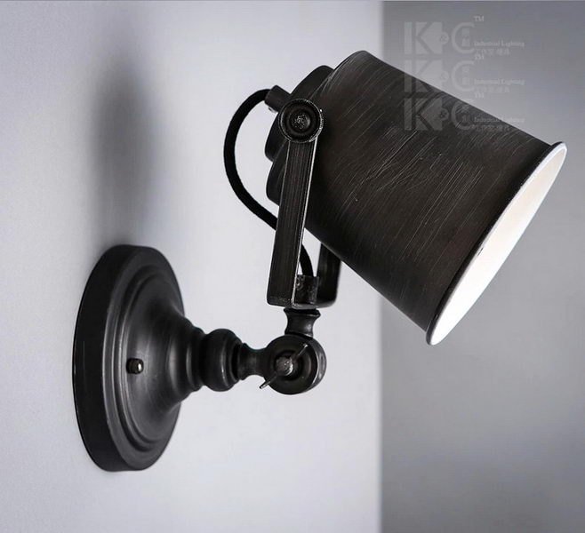 Wall Sconce Industrial Light Fixture 3d rendering