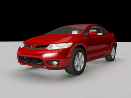 Honda Civic Sport 3d preview
