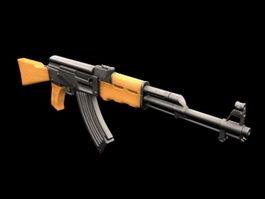 AK-47 3d preview