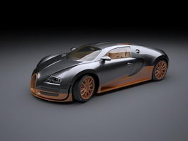 Bugatti Veyron Super Sport 3d preview