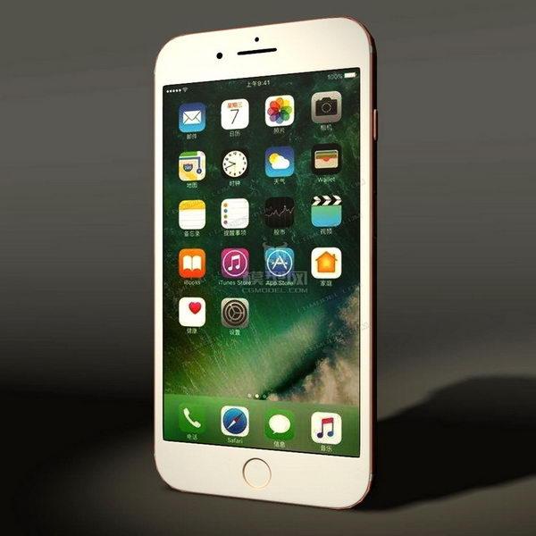 iPhone 7 Plus 3d rendering
