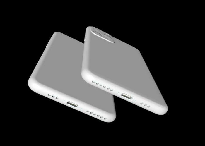 iPhone 11 Smartphone 3d rendering