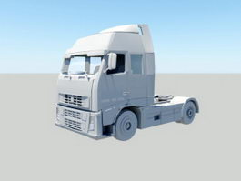 Volvo Truck 3d preview