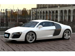 Audi R8 Type 42 3d preview