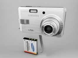 Samsung L700 Digital Camera 3d preview