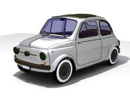Fiat 500 3d preview