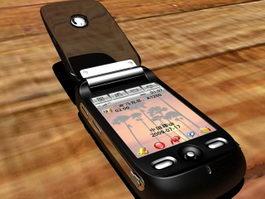 Motorola Ming A1200i Smartphone 3d preview
