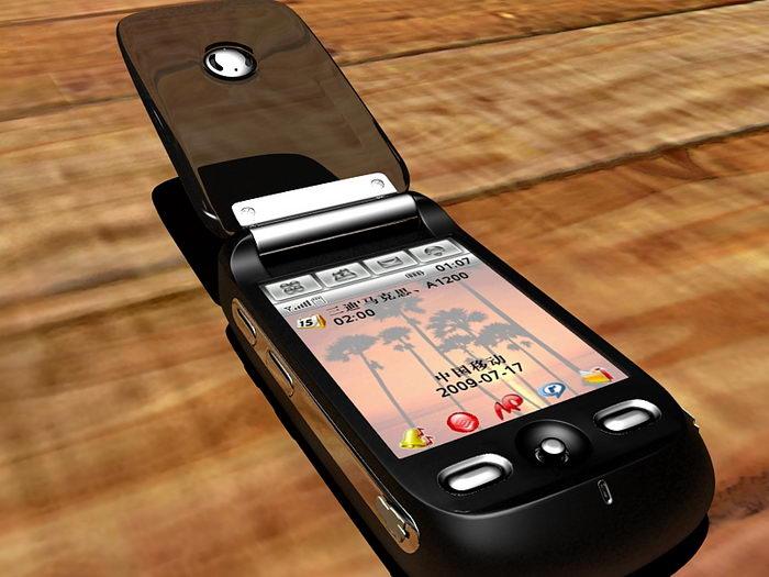 Motorola Ming A1200i Smartphone 3d rendering