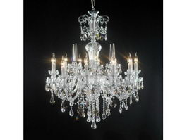 Classic Crystal Chandelier 3d preview