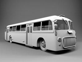 Vintage Bus 3d preview