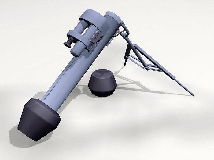M47 Dragon Anti-tank Missile 3d rendering