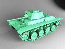 German Tank 3d preview