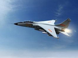 Chengdu J-7 Fishcan Fighter Aircraft 3d preview