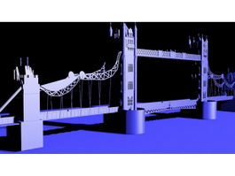 London Bridge 3d preview