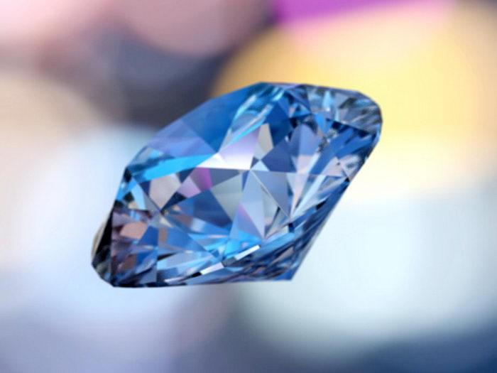 Shining Diamond 3d rendering