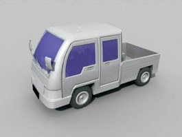Small Pickup Truck 3d preview