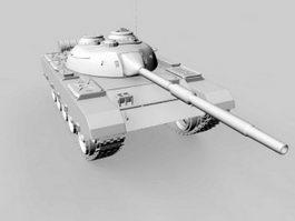 Type 59 Medium Tank 3d preview