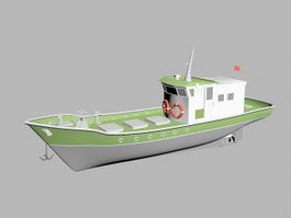 Fishing Trawler 3d preview