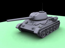 Middle Tank 3d preview