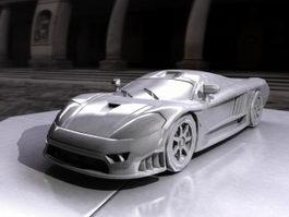 Coolest Supercar 3d model preview