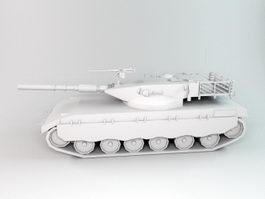 WW2 German Tank 3d preview