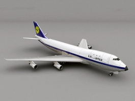 Boeing 747 Airliner 3d preview