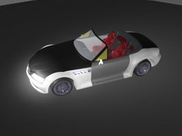 BMW Z4 Convertible 3d preview