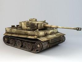 Tiger Tank WW2 3d preview