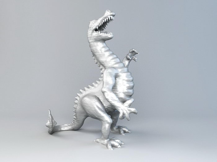 Giant Dragon Statue 3d rendering