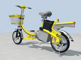 Electric Moped 3d preview