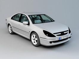 Peugeot 607 Sedan Car 3d preview