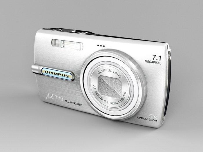 Olympus μ780 Digital Camera 3d rendering
