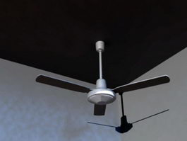Ceiling Fan 3d preview