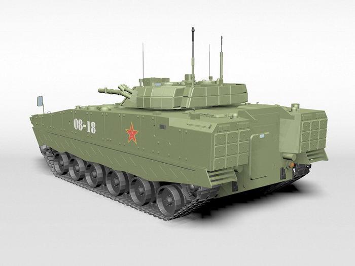 Type 04 IFV 3d rendering
