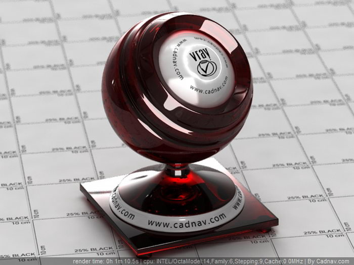 Merlot Wine material rendering