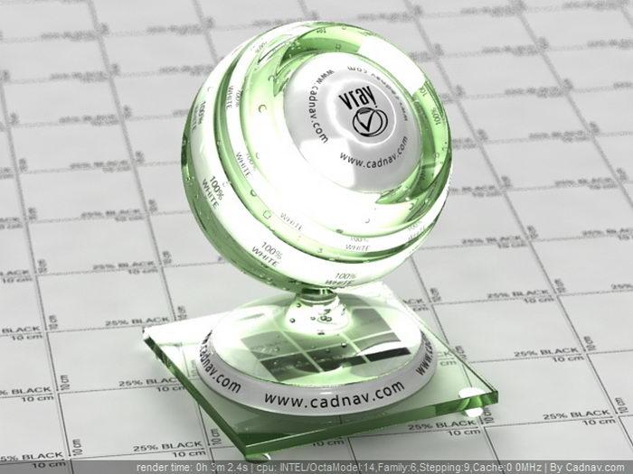 Basic Glass material rendering
