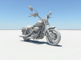 Motorcycle 3d preview