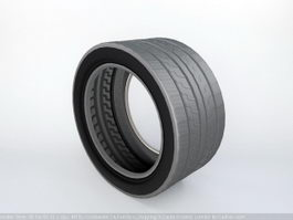 Automotive Road Tire 3d preview
