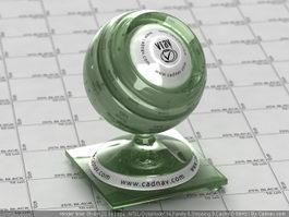 Green Jade vray material