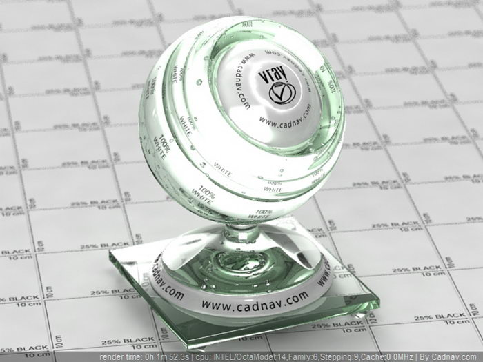 Common Glass material rendering