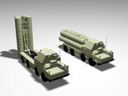 SA-10 Grumble Missile System 3d preview