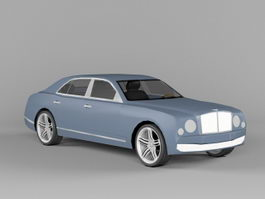 2011 Bentley Mulsanne 3d preview