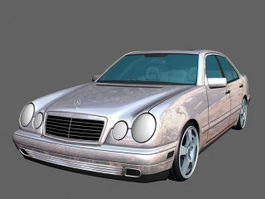 Benz Car 3d preview