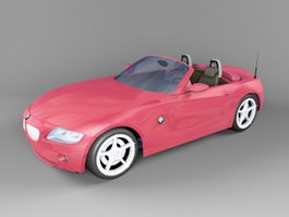 BMW Roadster Convertible 3d preview