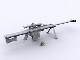 Barrett M82 3d preview