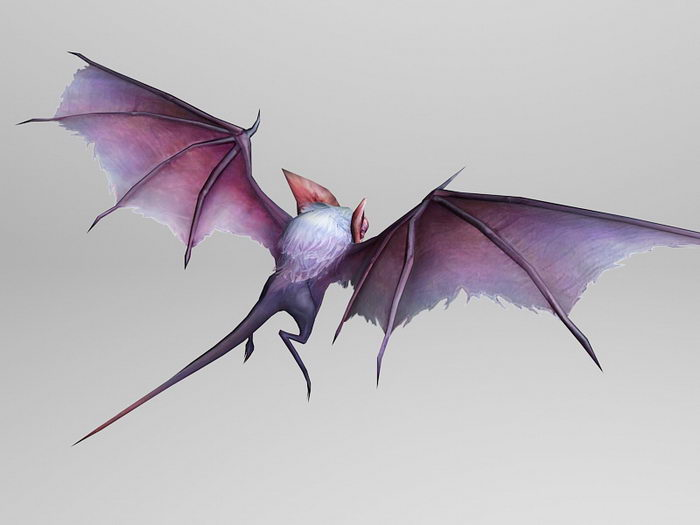 Bat Monster 3d rendering
