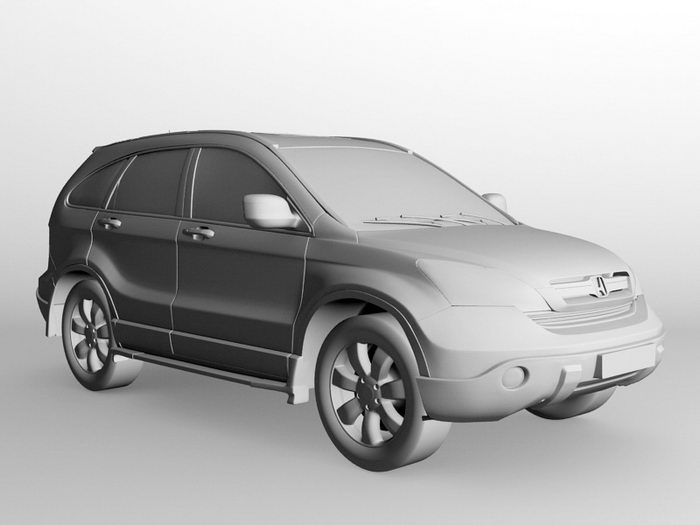 Honda CR-V 3d rendering